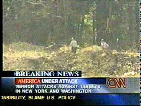 killtowns did flight 93 crash in shanksville news 9 11 news coverage 10 03 am ua 93 crashes in