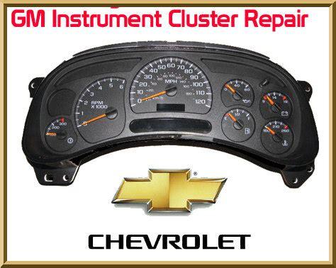 instrument cluster repair | chevy instrument cluster repair