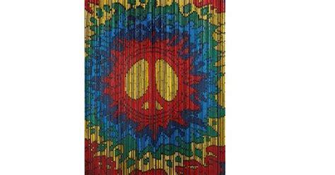 door hippie psychedelic peace bamboo door hippie