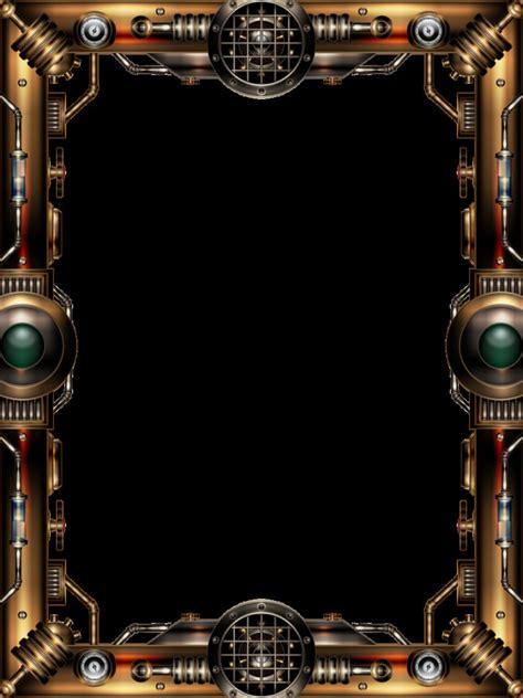 Cool Frame by Steampunk Frame By Illustratorg On Deviantart