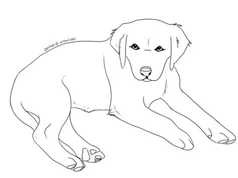 Outline Picture by Puppy Outlines By Hiromiwolf On Deviantart