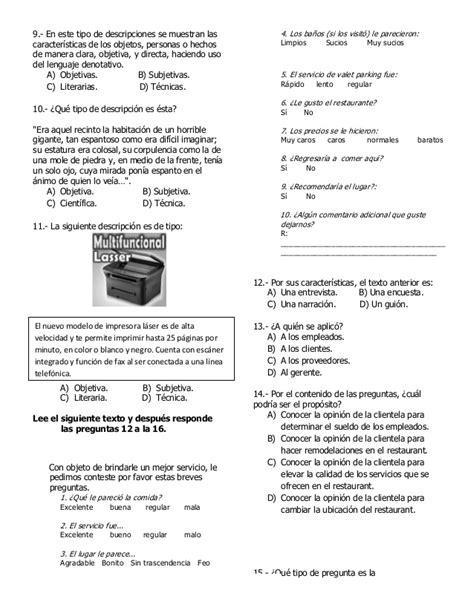 examen 5grado bimestre 5 examen 5 176 grado bimestre 5