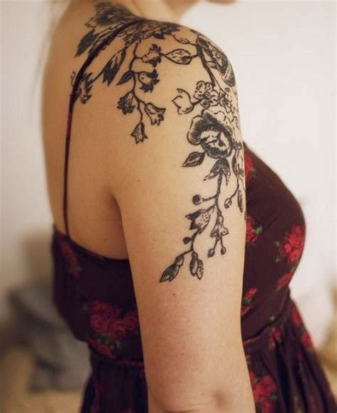 flower tattoo ideas for shoulder 45 cool shoulder tattoo designs for creative juice