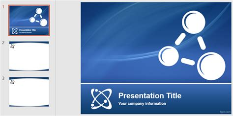 The Best Powerpoint Templates For Educational Presentations Physics Powerpoint Template