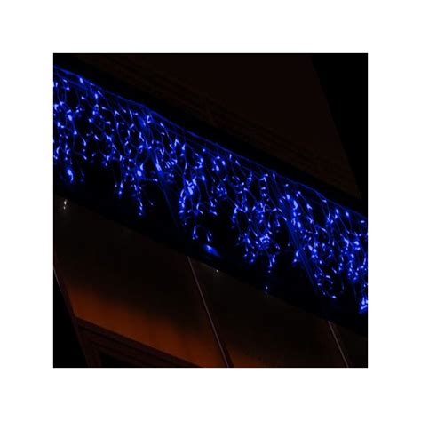 304 blue led outdoor icicle light connectable 4m x 1 5m