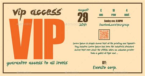 vip pass template vip pass template www pixshark images galleries