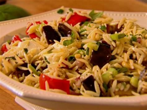 ina garten vegetarian recipes orzo with roasted vegetables recipe ina garten food