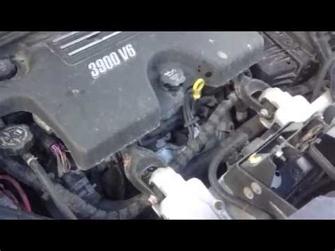 1d1020 chevy uplander 3.9l youtube