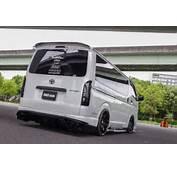 Custom Japan Toyota HiAce Stinger 200HIACE Is Forward Control