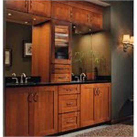 Hayward Kitchen Cabinets Home Depot Deal Shown Kraftmaid Hayward Cherry Door Cabinets With Cinnamon Finish Master