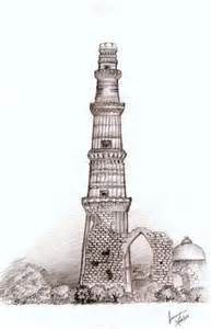 the qutub minar by bluewingz23 on deviantart