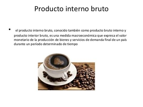 producto interior bruto producto interno bruto