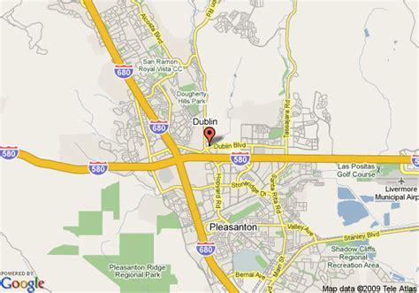 dublin california map map of inn express hotel and suites dublin dublin