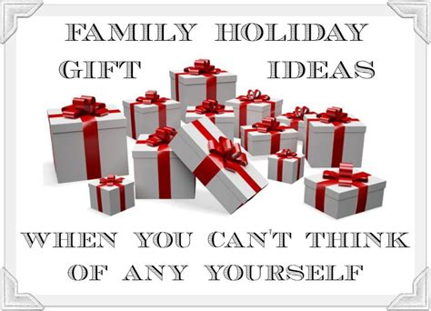 family gift ideas what do i get my family for christmas lynette radio