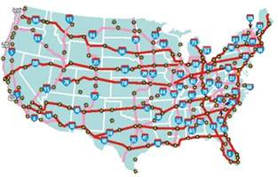 us map with interstates and highways get the jive on route i 405 mike s web log comments