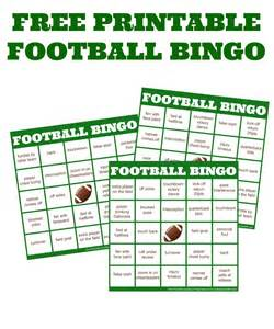 football bingo template pictures to pin on pinterest