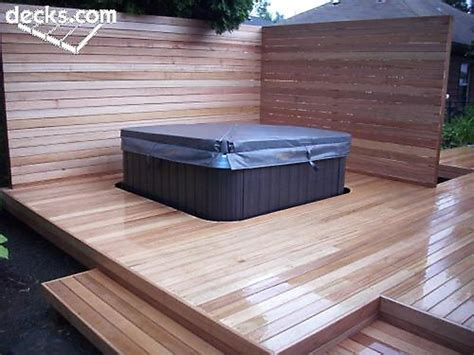 deck it out hot tub and spa decks hottubworks spa hot tub blog