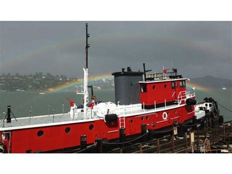 1955 us army tug houseboat powerboat for sale in california - Tugboat Houseboat