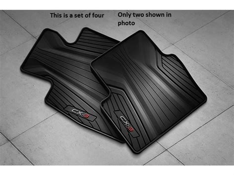 Mazda 3 Floor Mats by Mazda Cx 3 All Weather Floor Mats Set Of 4