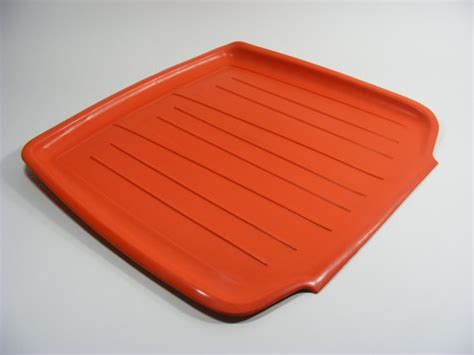 Dish Drainer Mat orange rubbermaid dish drain mat by thefronthouse on etsy