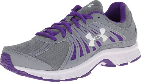 armour shoes womens armour running shoes dash rn grey purple white