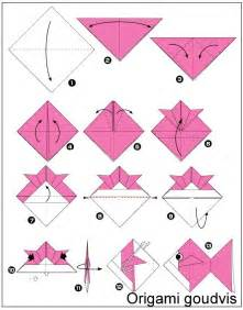 How To Do Origami Fish - 25 best ideas about origami fish on origami