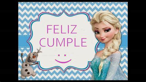 imagenes de feliz cumpleaños hermana frozen 161 feliz cumplea 209 os frozen de disney felicitaci 243 n de
