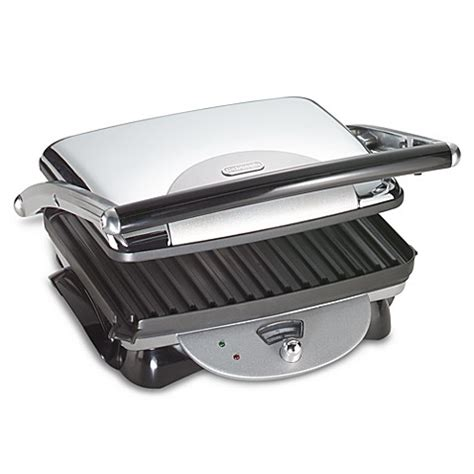 bed bath and beyond grill buy de longhi retro panini grill from bed bath beyond