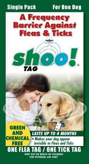 flea and tick shoo for puppies homevet shoo tag tick flea and mosquito homevet