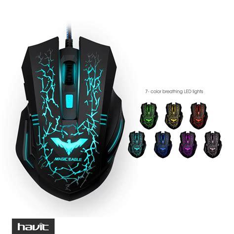 Havit Hv Ms736 Ergonomic Led Stress Ease Wired Mouse havit hv ms672 ergonomic led stress ease wired mouse