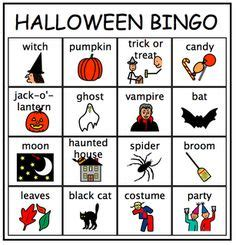 Ghost Bingo Card Template by Go To Cayola For Free Printable Sheets And Other