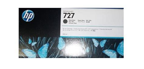 Tinta Hp 727 300ml Black Original muc in hp 727 300 ml matte black designjet ink cartridge