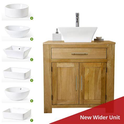 wide basin bathroom sink 50 wide oak vanity unit with basin sink 850mm