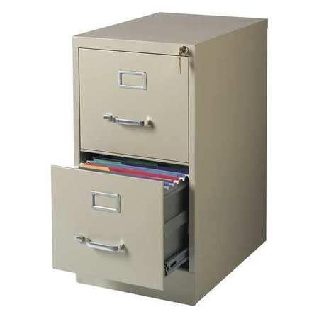 hirsh 2 drawer letter file cabinet hirsh 22 inch 2 drawer letter size vertical file