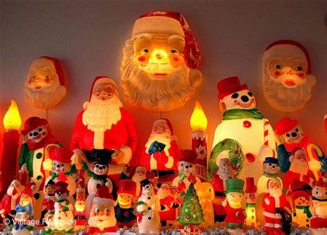blow mold vintage santa c h r i s t m a s pinterest