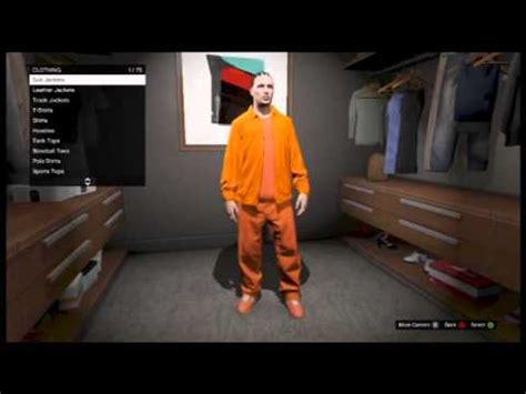 gta 5 online how to dress up like a prisoner youtube