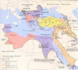 Map Of Ottoman Empire 1914 Maps Ottoman Empire