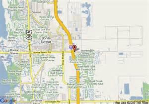bonita bay florida map map of comfort inn bonita bonita springs