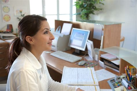 needed worker front desk receptionist offer