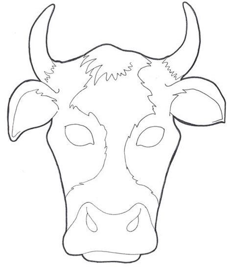 bull mask template running with the bulls spain hs country studies