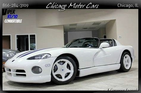 car engine manuals 1996 dodge viper user handbook sell used 1996 dodge viper rt 10 only 32k miles 8 0l v10 6 speed manual mb quartz rare in west