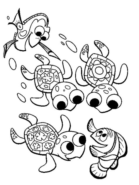 coloring pages baby turtle under the sea coloring pages bestofcoloring com
