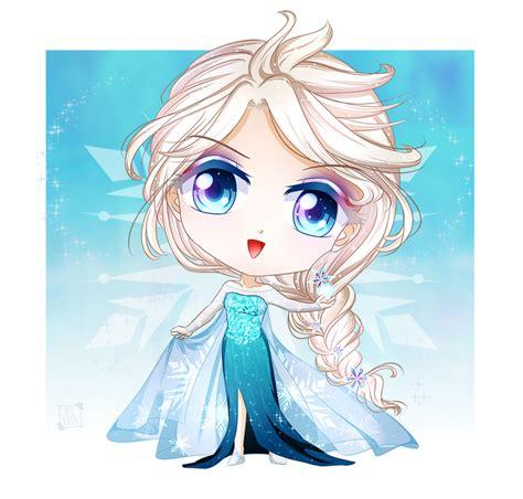 imagenes png de frozen chibi tales elsa by bluajisai on deviantart