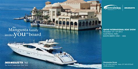 boat show in ta qibs 2013 yacht charter superyacht news