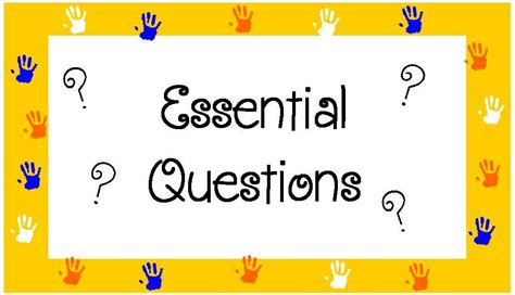 scholars weekly essential questions are posted mrs eller