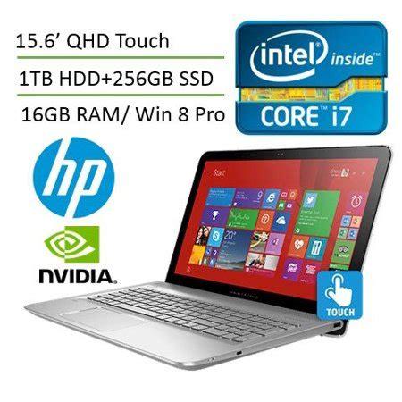 hp envy 15t 15.6'' qhd touch laptop pc (intel i7 processor