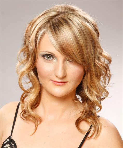 front views of prom hair styles long wavy formal hairstyle