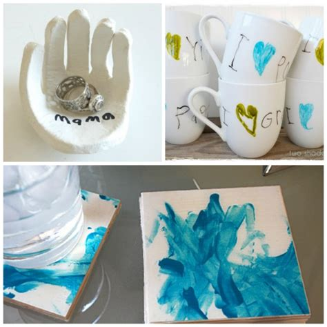 Handmade Gifts From Toddlers - 40 gifts can make that grown ups will really use