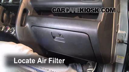2002 2006 honda cr v cabin air filter check 2006 honda