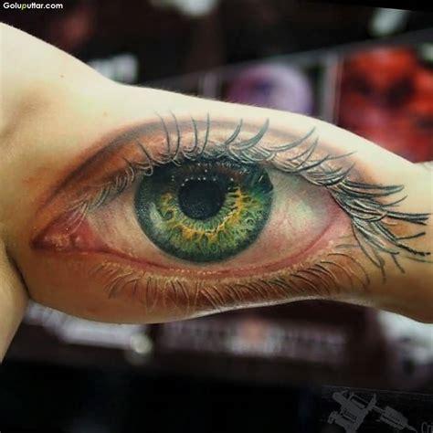 tattoo inside eye 3d arm tattoos